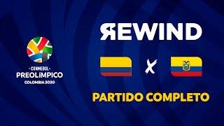 Colombia vs Ecuador l Preolímpico 2020 [Partido Completo]