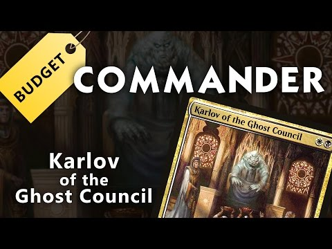 Budget Commander: Karlov of the Ghost Council - UNDER $75.00!