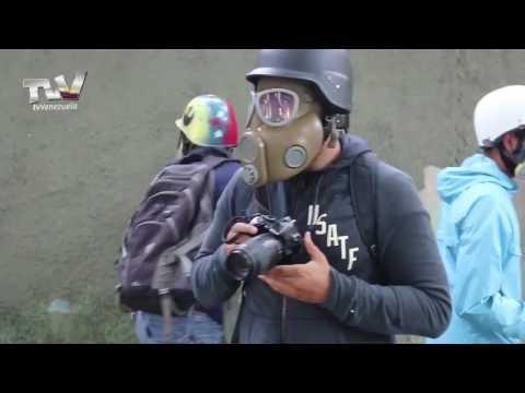OCURRIO EN LAS INMEDIACIONES DE LA UCV CARACAS VENEZUELA.