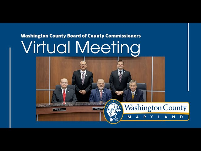 Washington County Board of County Commissioner's Meeting 12/8/2020
