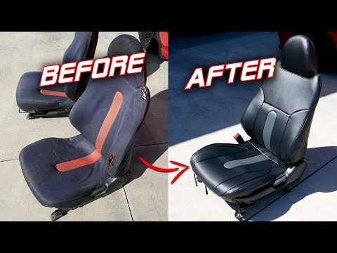 The CLEANEST Budget Honda Civic Seats...Ever? | $30 Seat Transformation