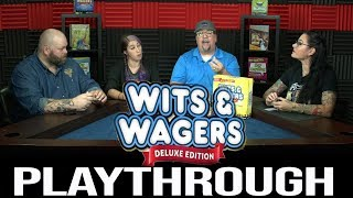 Wits & Wagers Deluxe Edition Playthrough