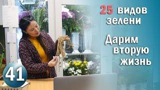 Флористика 25 ВИДОВ ЗЕЛЕНИ которой можно подарить вторую жизнь КУРСЫ ФЛОРИСТИКИ