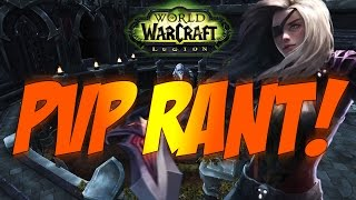Sensus | WoW Legion Rogue PvP | WORLD OF WARCRAFT PVP RANT! (Subtlety/Assassination Rogue PvP)