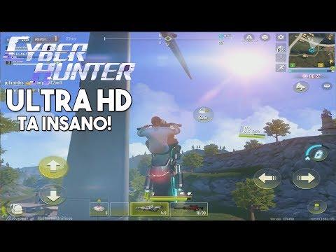 SAIU! CYBER HUNTER PARA ANDROID/IOS - ULTRA HD ESTA INSANO!