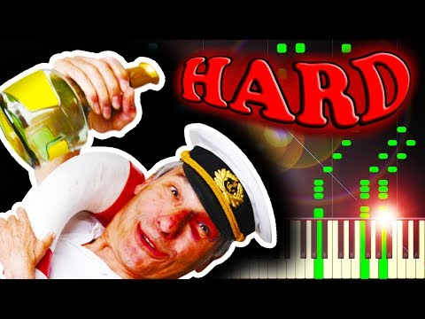 WHAT SHALL WE DO WITH THE DRUNKEN SAILOR  Piano Tutorial