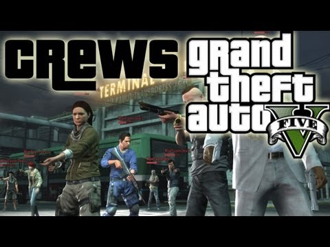 ★ GTA 5 - NEW Info on Crews! Ranking System!