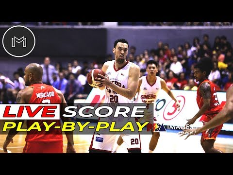 🔴LIVE PODCAST PBA FINALS G5: BRGY. GINEBRA VS MERALCO BOLTS | PLAY-BY-PLAY