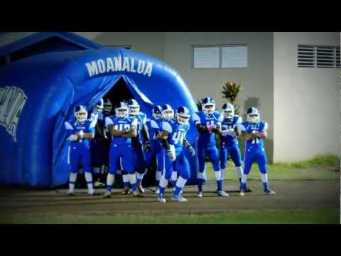 Moanalua High School Football Varsity Entrance 2011 Vs Farrington High School