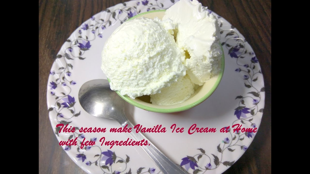How to make ice cream cone at home without egg in hindi