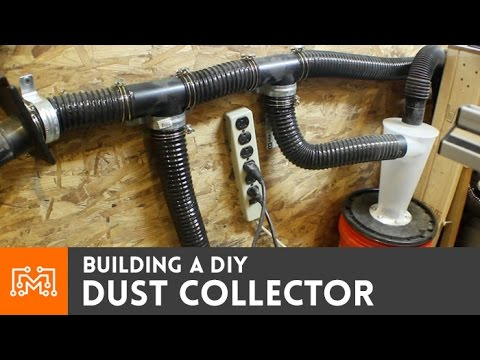 How To Make A Dust Collector With A Wet Dry Vac Youtube