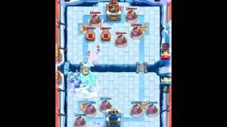 Best Funny Moments, Fails, Clutches, Trolls Compilation Clash Royale.