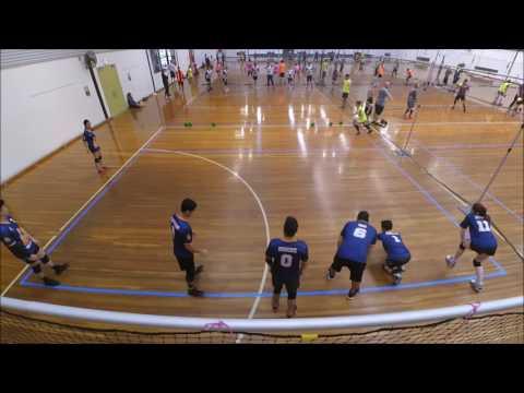 2016 Victorian Dodgeball League Round 10: Glen Waverley Gorillas vs Warrnambool Sea Monsters