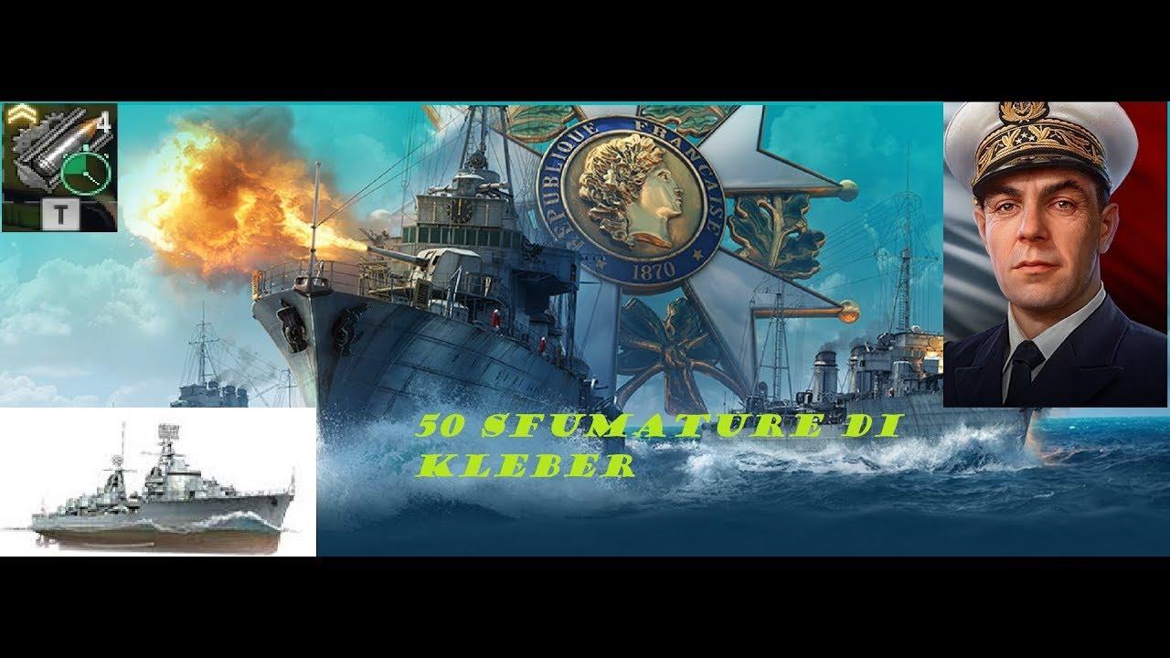 World of Warships - Kleber - YouTube