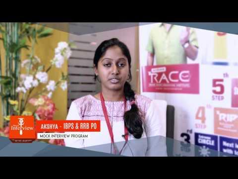 AKSHAYA - CHENNAI RACE STUDENT interview experience