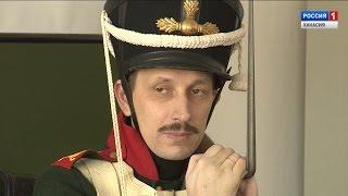 Исторический клуб «Енисеец», воссоздал образ бойцов Российской Армии 19 века . 29.03.2017