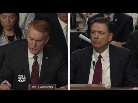 Many news stories about Russia probe are dead wrong, Comey tells Sen. Lankford
