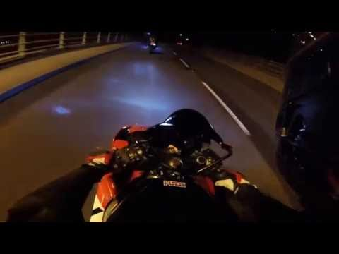 Little Night Ride CBR 250RR Go Pro Session