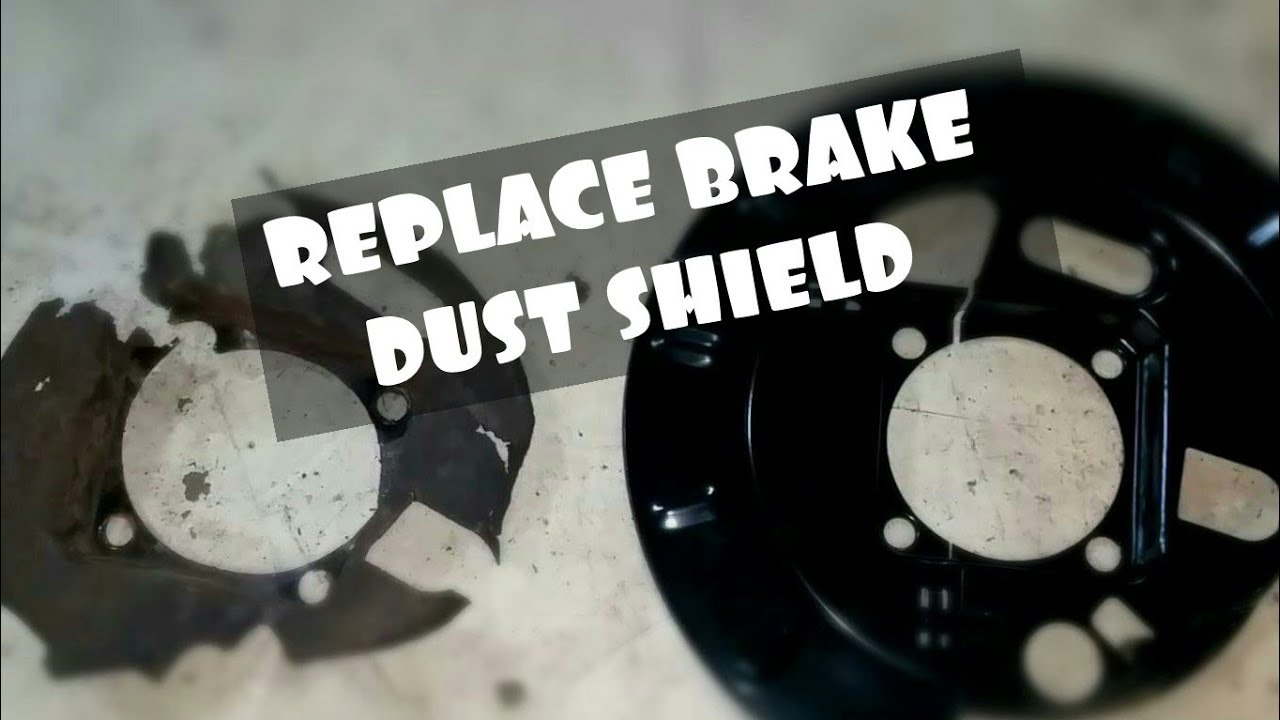 HOW TO REPLACE REAR DUST SHIELD BACKING PLATE ON 2000-06 TAHOE SUBURBAN GMC YUKON ESCALADE - YouTube