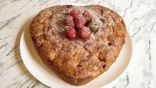 Клубничный Пирог/Пирог с Клубникой(Нежный и Вкусный)/Strawberry Pie/Быстрый Рецепт(Очень Просто)