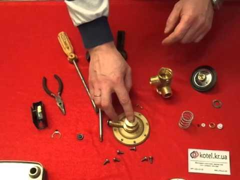 Газовый клапан котла - Устройство, причины неисправностей и ремонт .