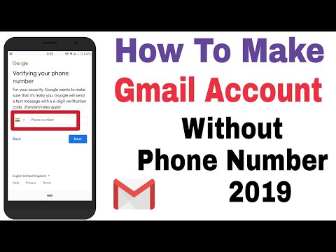 Create Gmail Without Phone Number  - How To Make Gmail Account Without Phone Number 2019