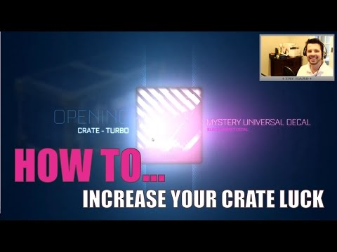 How To Increase Your Crate Luck (30 Turbo Crates - Unbox 20XX Certified)