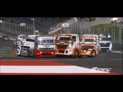 The highlights of truck racing at Red Bull Ring: FIA ETRC, Round 1, 4 races