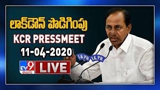 Cm Kcr Press Meet Live || 11-04-2020 || Lockdown Extension - Tv9 Exclusive