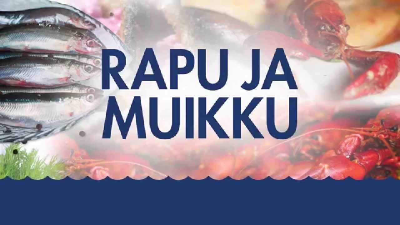 Tunnelmia uudistetusta Rapu ja Muikku -tapahtumasta. Seuraavan kerran herkutellaan 29.-30.7.2016! Rapu ja Muikku on koko perheen ruokatapahtuma, jossa kohtaa...