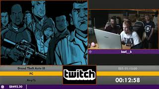 #ESA16 - Grand Theft Auto III [Any%] by karl__k