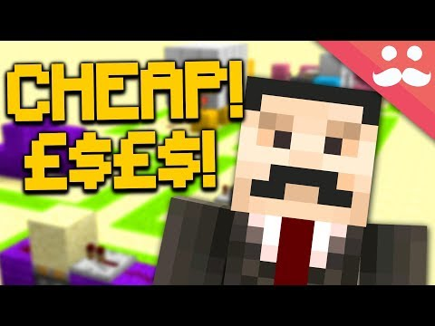 How to Make CHEAP REDSTONE BUILDS in Minecraft!