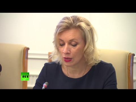 Мария Захарова на заседании Дипломатического клуба