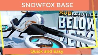 Subnautica Below Zero Exploring Snowfox Base