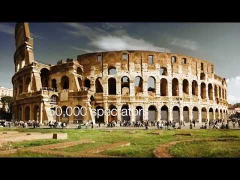 Roman Architecture - The Colosseum and The Pantheon