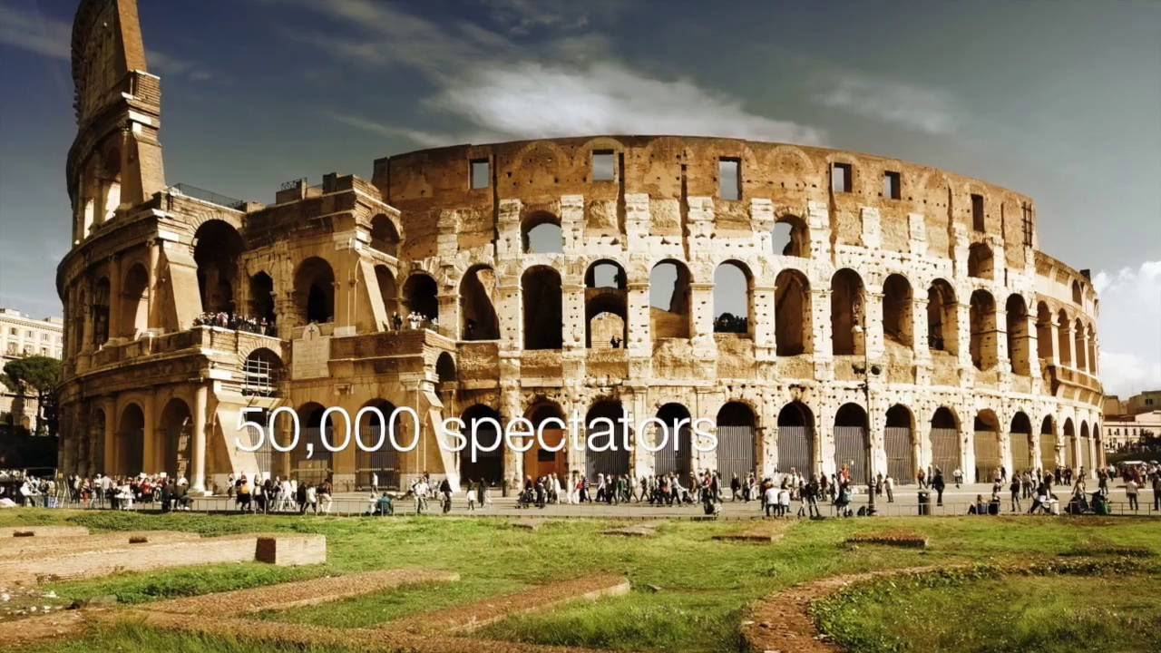Roman Architecture The Colosseum And The Pantheon Youtube
