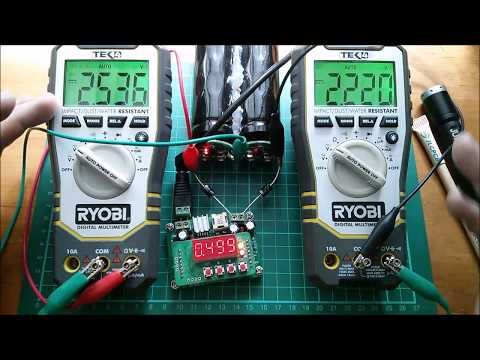 Two 700F Supercapacitors in Series
