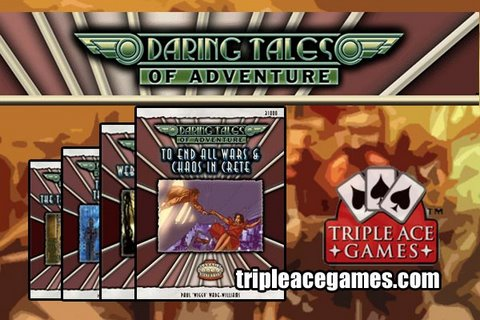 Game Geeks #89 Daring Tales of Adventure # 1 - 4