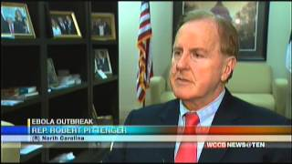 WCCB:  Congressman Pittenger calls for Ebola travel restrictions