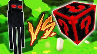 LORD ENDERMAN VS. LUCKY BLOCK ESPECIAL (MINECRAFT LUCKY BLOCK CHALLENGE)