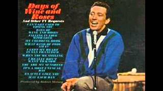 "Andy Williams: ""Can't Get Used To Losing You"""
