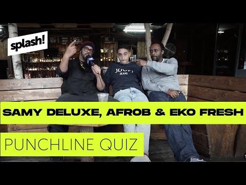 Samy Deluxe, Afrob & Eko Fresh im Punchline Quiz