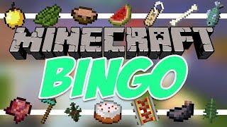 Minecraft Bingo With Friends - First Timer Minigame Video