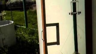видео Душевая кабина из поликарбоната своими руками