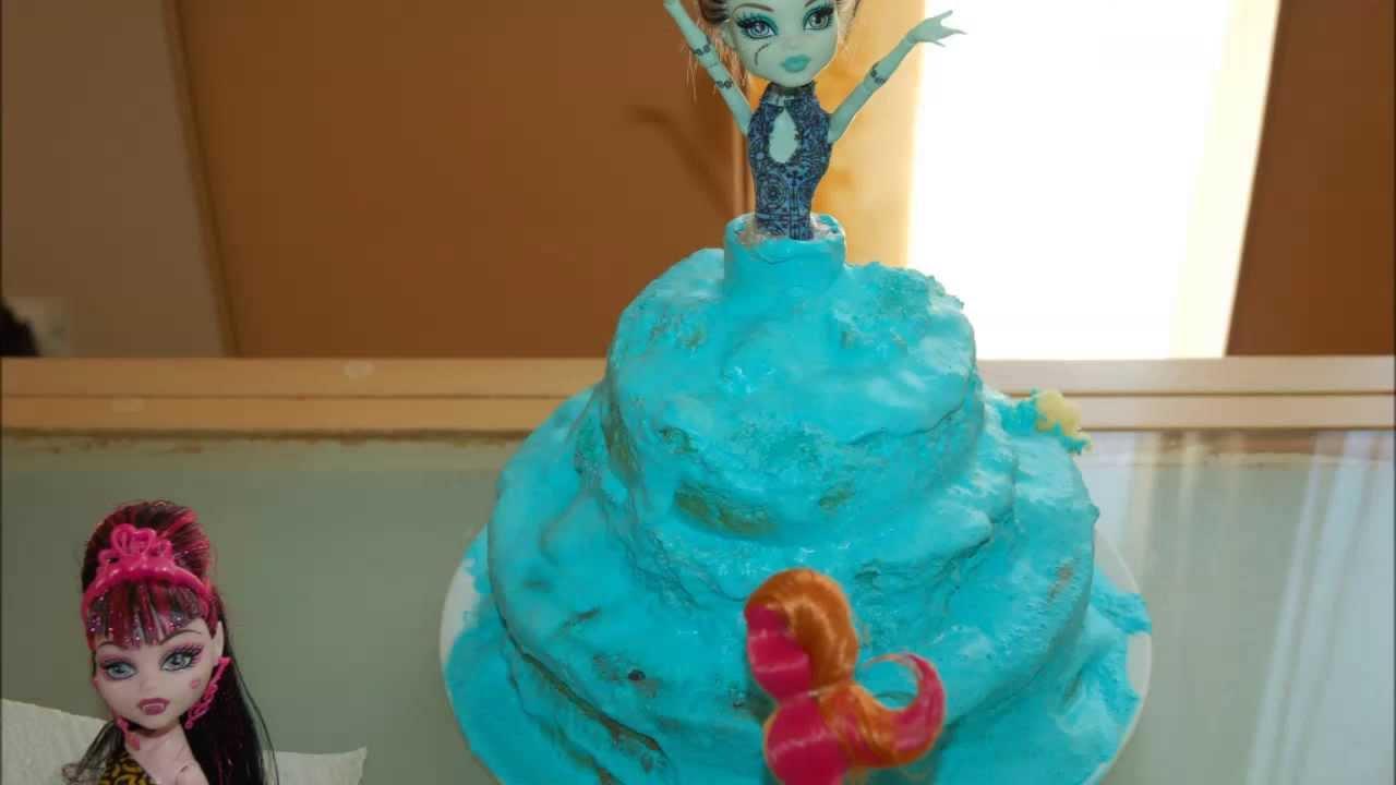 Bien-aimé Gâteau Monster High pour mon Anniversaire ! - YouTube XF35