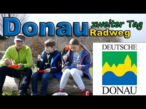 Donauradweg zweiter Tag