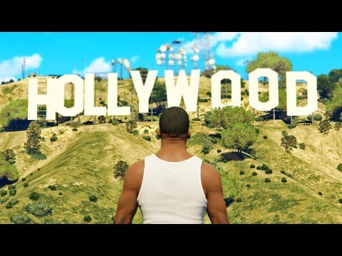 GTA 5 im echten LOS ANGELES spielen!