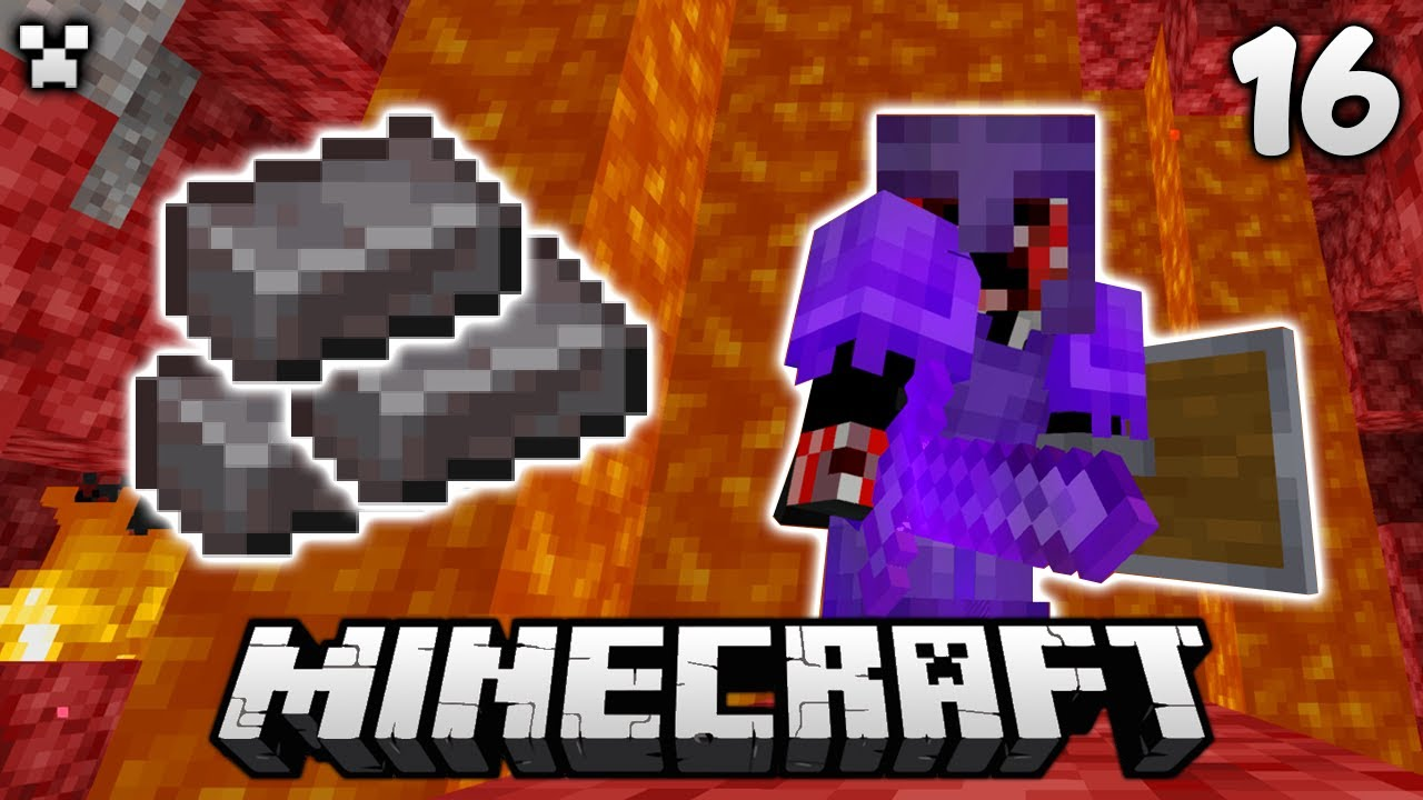 Netherite Mania! | Let's Play Minecraft Survival Ep.16