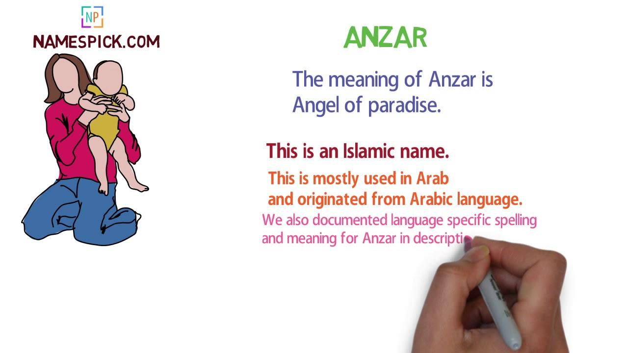 anzar name