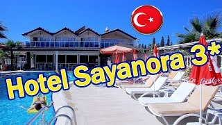 Отели Турции Hotel Sayanora 3 Сиде Сиде центр